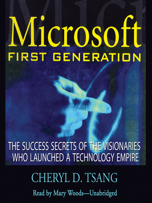 Cover of Microsoft First Generation