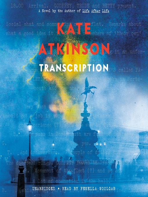 Title details for Transcription by Kate Atkinson - Available