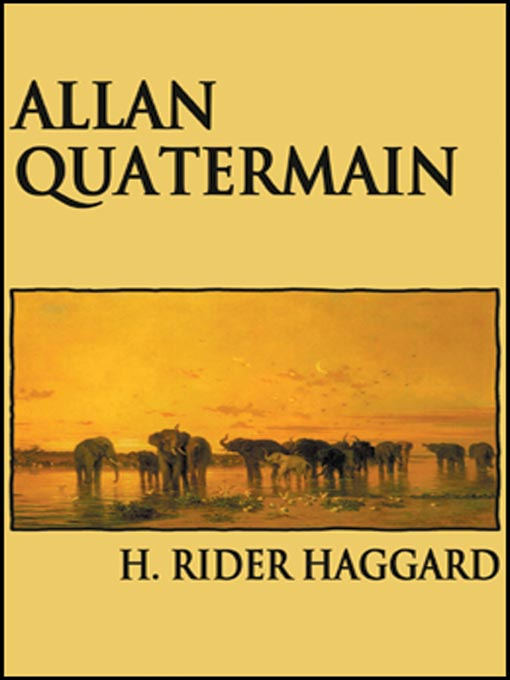 an analysis of the epic journey of allan quatermain Allan quatermain is the protagonist of h rider haggard's 1885 novel king solomon's mines and its sequels allan quatermain was also the title of a book in this sequence allan quatermain was also the title of a book in this sequence.