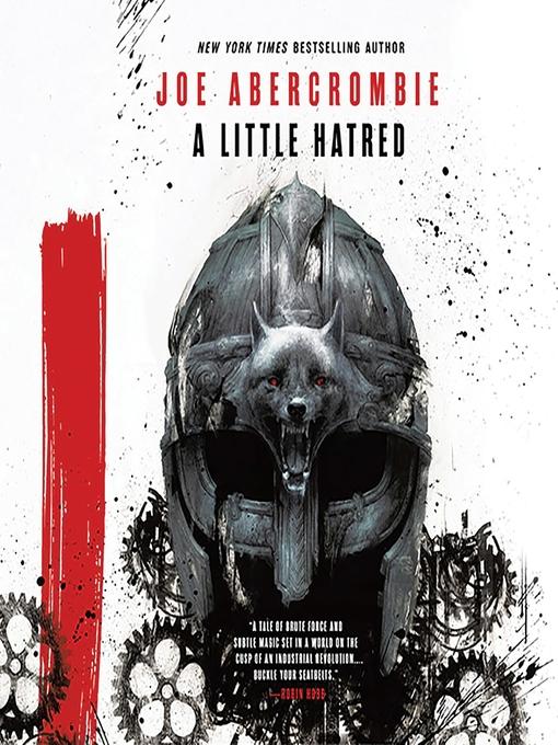 Title details for A Little Hatred by Joe Abercrombie - Wait list