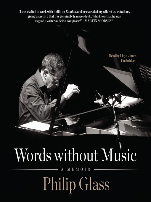 Title details for Words without Music by Philip Glass - Available