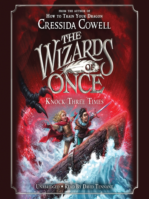 Title details for Knock Three Times by Cressida Cowell - Wait list