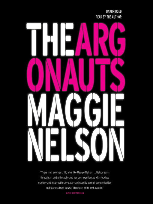 Cover of The Argonauts