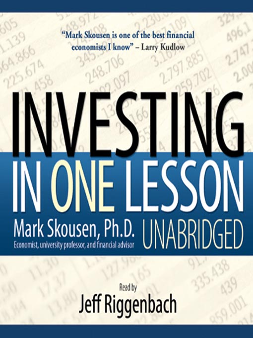 Title details for Investing in One Lesson by Mark Skousen - Available