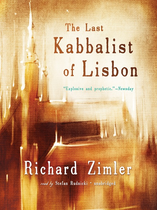 Title details for The Last Kabbalist of Lisbon by Richard Zimler - Available