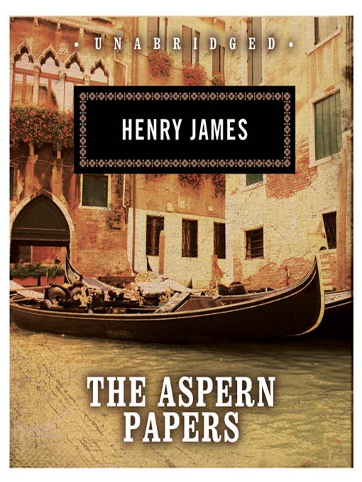 Cover of The Aspern Papers