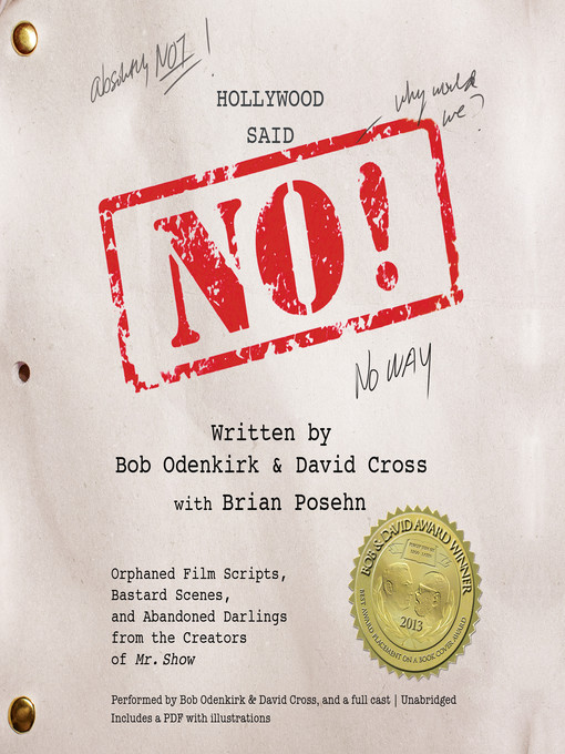 Title details for Hollywood Said No! by Bob Odenkirk - Available
