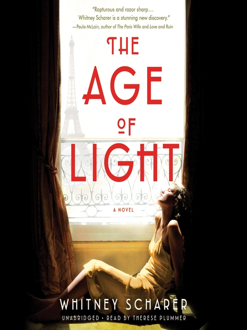 Title details for The Age of Light by Whitney Scharer - Wait list