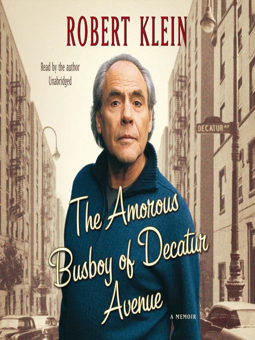 Title details for The Amorous Busboy of Decatur Avenue by Robert Klein - Wait list