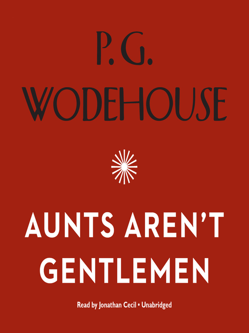 Title details for Aunts Aren't Gentlemen by P. G. Wodehouse - Wait list