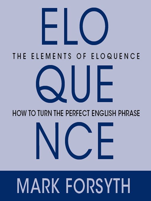 Cover of Elements of Eloquence