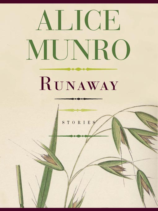 Title details for Runaway by Alice Munro - Wait list
