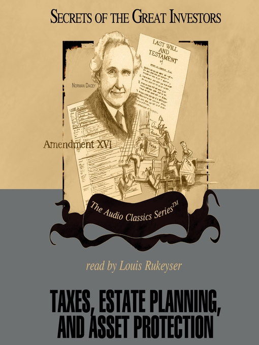 Title details for Taxes, Estate Planning, and Asset Protection by Vernon K. Jacobs - Available