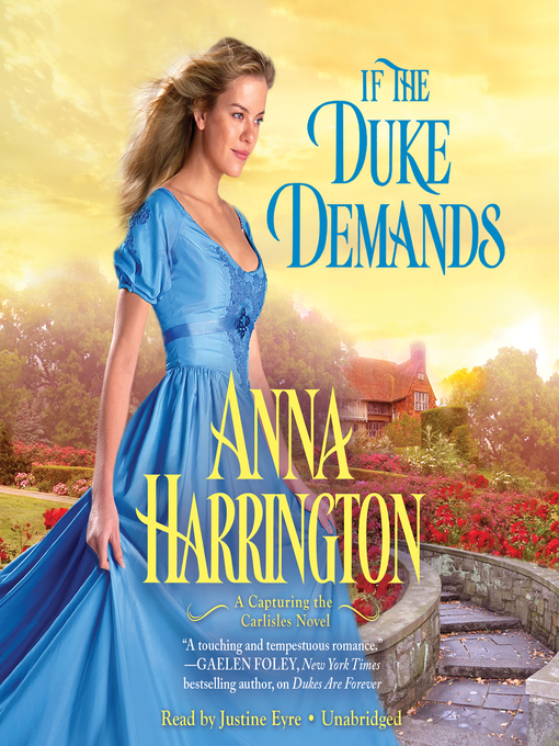 Title details for If the Duke Demands by Anna Harrington - Wait list