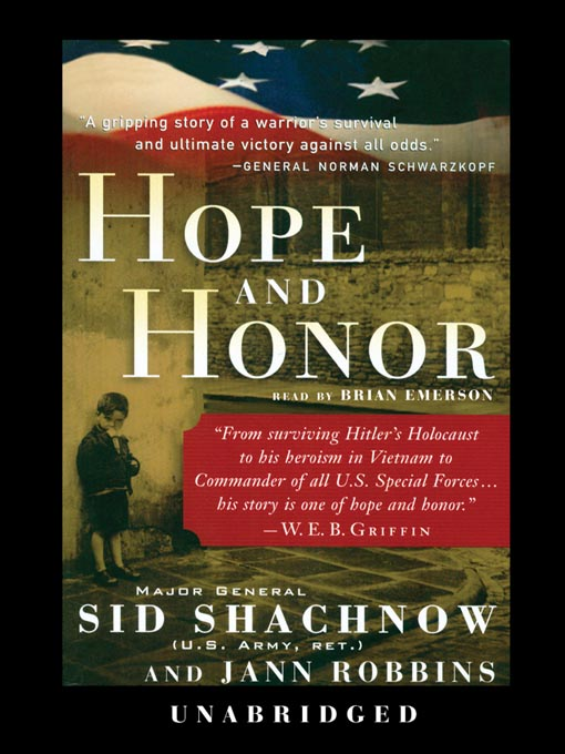 Title details for Hope and Honor by General Sid Shachnow - Available