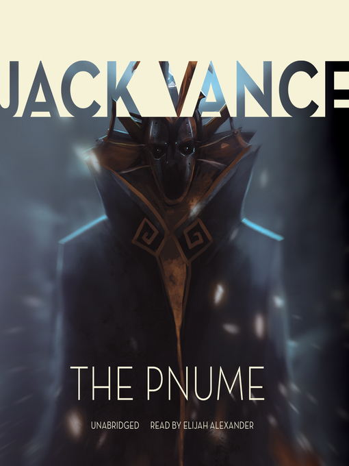 Title details for The Pnume by Jack Vance - Wait list