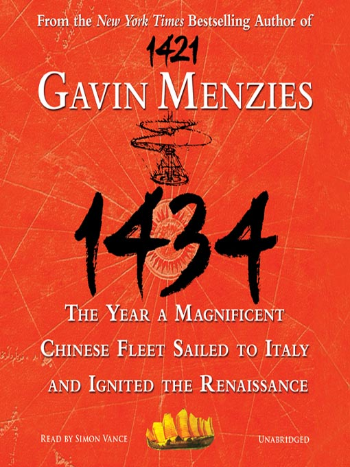 Title details for 1434 by Gavin Menzies - Wait list