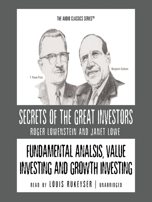 Cover of Fundamental Analysis, Value Investing and Growth Investing