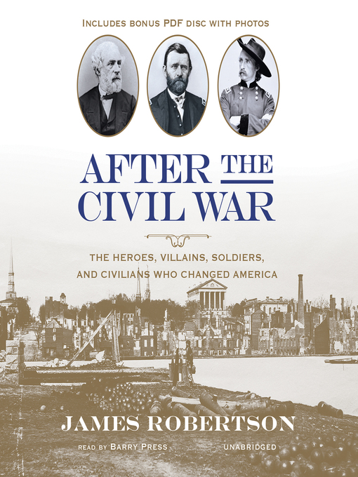 Title details for After the Civil War by James Robertson - Available