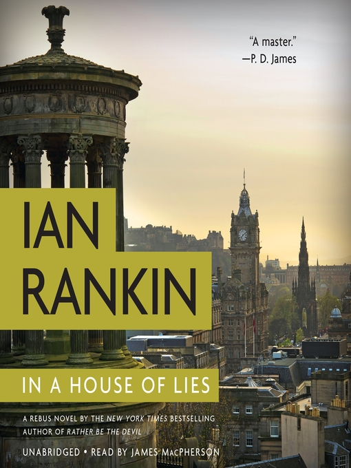 Title details for In a House of Lies by Ian Rankin - Wait list