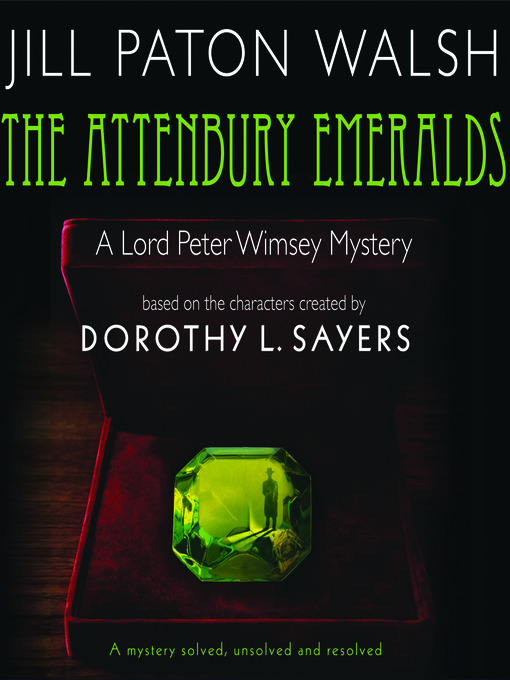 Title details for The Attenbury Emeralds by Jill Paton Walsh - Wait list