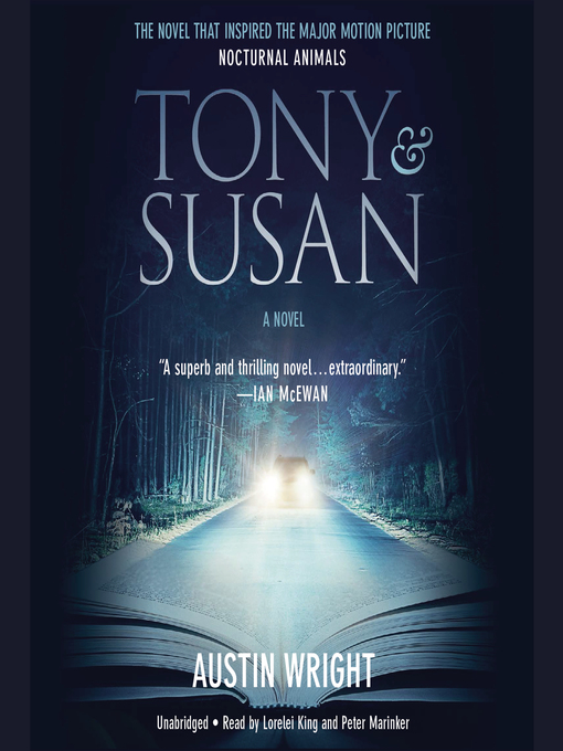 Title details for Tony and Susan by Austin Wright - Wait list