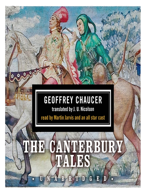 Cover image for The Canterbury Tales