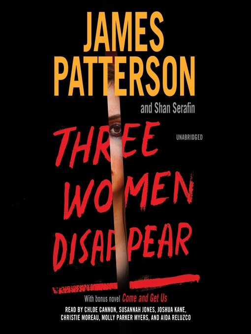 Title details for Three Women Disappear by James Patterson - Wait list