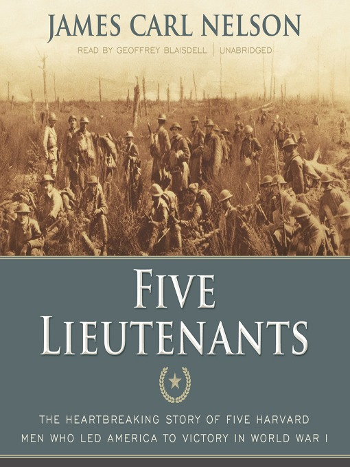 Title details for Five Lieutenants by James Carl Nelson - Available