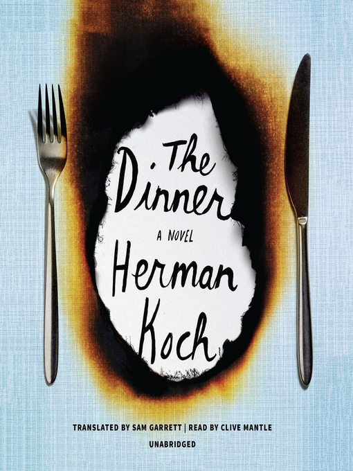 Title details for The Dinner by Herman Koch - Wait list