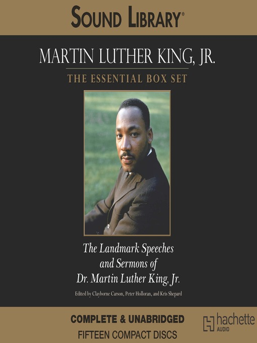 Title details for Martin Luther King, Jr.: The Essential Box Set by Clayborne Carson - Available