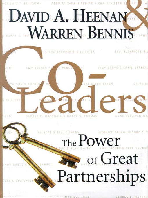 Title details for Co-Leaders by David A. Heenan - Available