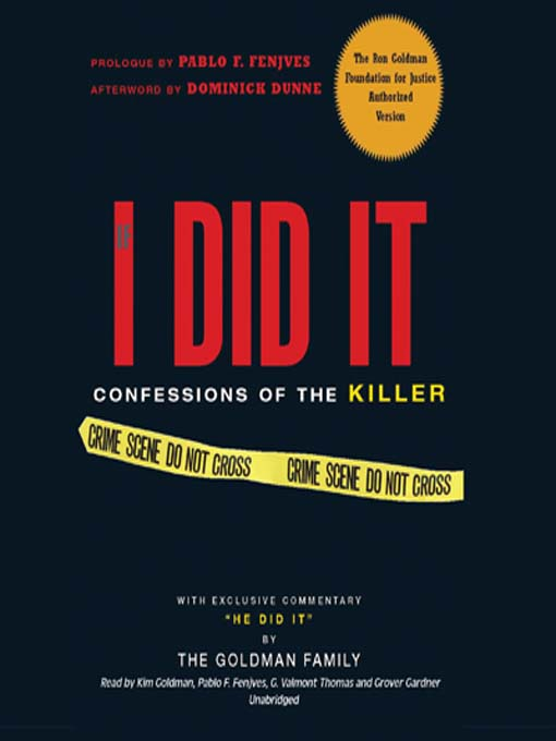 Title details for If I Did It by The Goldman Family - Available