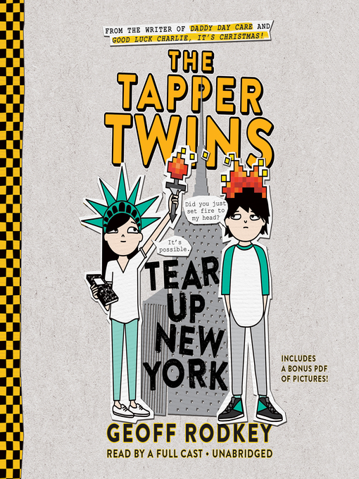 Cover image for book: The Tapper Twins Tear Up New York