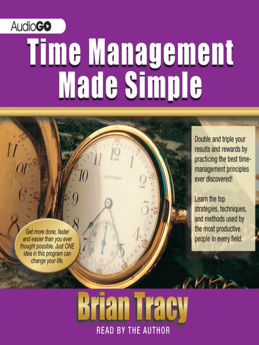 Title details for Time Management Made Simple by Brian Tracy - Wait list