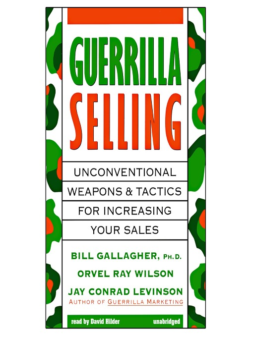 Cover of Guerrilla Selling