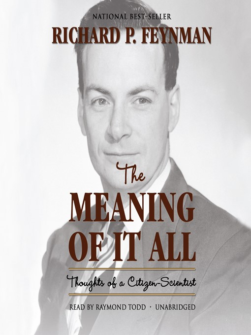 Cover of The Meaning of It All