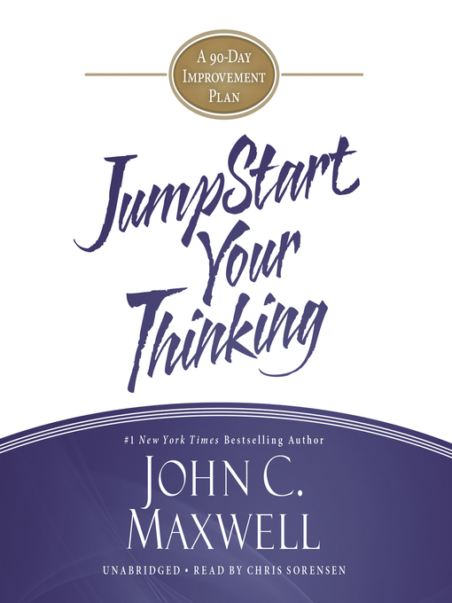 Title details for Jumpstart Your Thinking by John C. Maxwell - Wait list