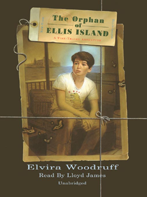 Cover image for The Orphan of Ellis Island