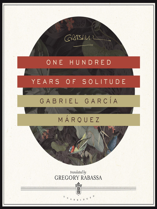 Cover image for book: One Hundred Years of Solitude