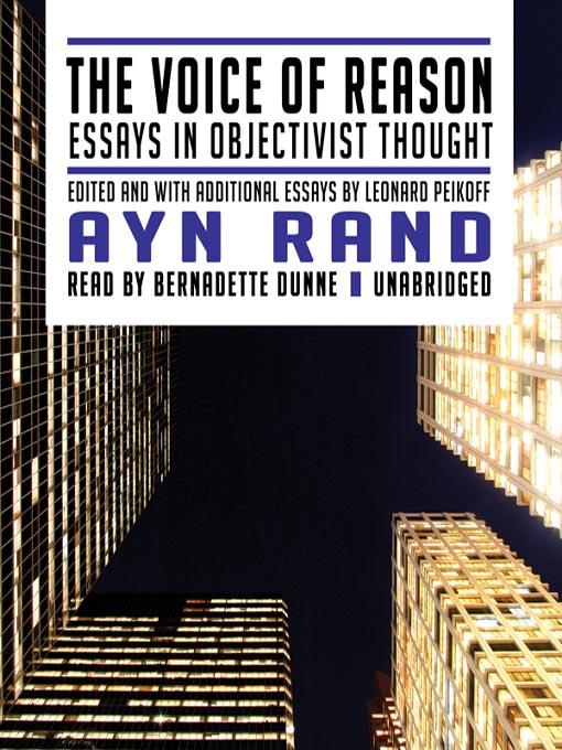 essays on ayn rand's the fountainhead