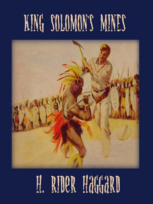 Cover of King Solomon's Mines