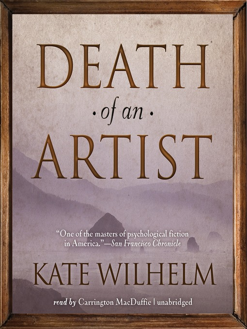 Title details for Death of an Artist by Kate Wilhelm - Wait list