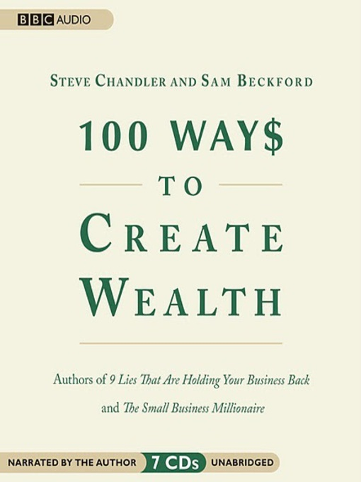 Title details for 100 Ways to Create Wealth by Sam Beckford - Available