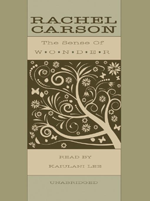 Title details for The Sense of Wonder by Rachel L. Carson - Wait list