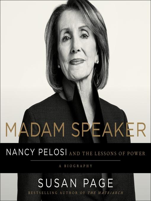 Title details for Madam Speaker by Susan Page - Wait list