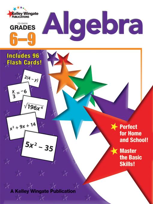 Algebra, Grades 6 - 9