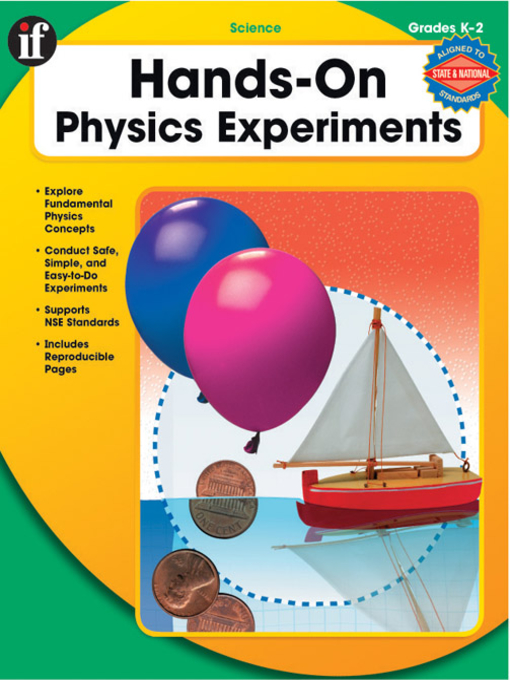Title details for Hands-On Physics Experiments, Grades K - 2 by Cherie Winner - Available