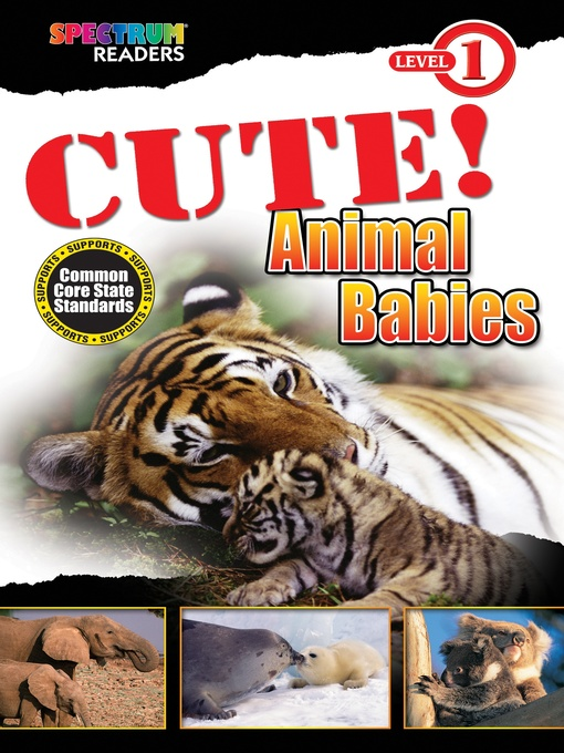 Title details for CUTE! Animal Babies by Teresa Domnauer - Wait list