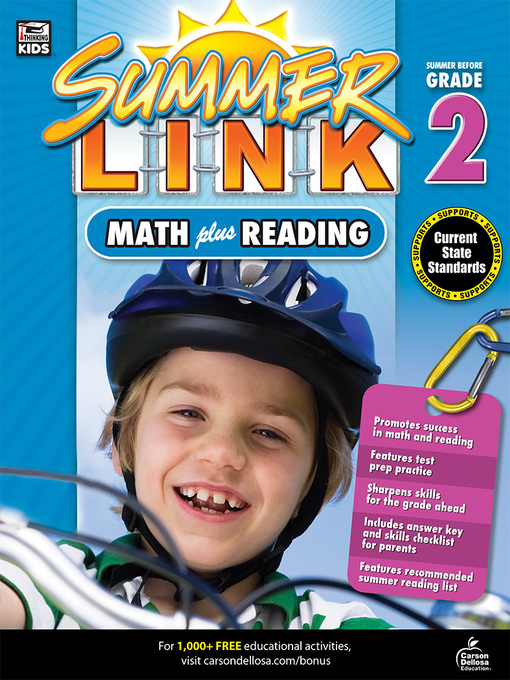 Cover of Math Plus Reading Workbook